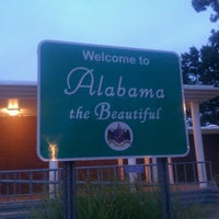 Photo taken at Alabama/Tennessee State Line by Jennifer💋 B. on 8/17/2012