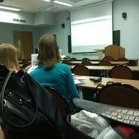 Photo taken at Финансовый университет при Правительстве РФ by Katrina B. on 9/12/2012