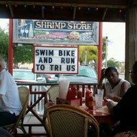 Photo taken at Fourth Street Shrimp Store by Dianne O. on 4/28/2012