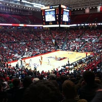 Photo taken at TTU - United Supermarkets Arena by Gibran V. on 1/12/2011