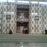 Photo taken at Masjid LIPI by Lanny M. on 1/12/2012