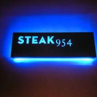 Photo taken at Steak 954 by Luis A. on 1/19/2012