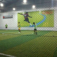 Photo taken at Planet Futsal Yogyakarta by Bambang A. on 12/24/2011