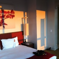Photo taken at Kimpton Ink48 Hotel by Lauren C. on 7/17/2011