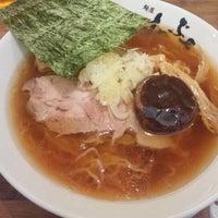 Photo taken at 横浜家系 麺屋 はやぶさ by upk on 10/31/2011