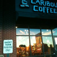 Photo taken at Caribou Coffee by Faith S. on 9/6/2012