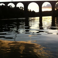 Photo taken at Ponte Ferroviaria do Marco de Canaveses by Carlos Bartilotti M. on 4/15/2012