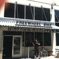 Photo taken at Freewheel Bike Shop - Midtown Bike Center by Jaim Z. on 6/4/2011