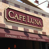 Photo taken at Cafe Luna by John H. on 5/28/2012