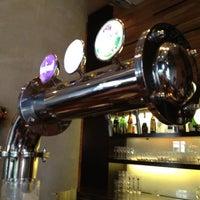 Photo taken at Brotzeit German Bier Bar & Restaurant by Hoykong M. on 11/27/2011