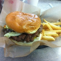 Photo taken at Andy's Burgers Shakes & Fries by Preston L. on 12/17/2011