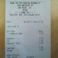 Photo taken at McDonald's by Ronald's M. on 10/7/2011