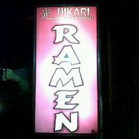 Photo taken at Hikari Ramen & Japanese Food by Wisnu N. on 10/26/2011