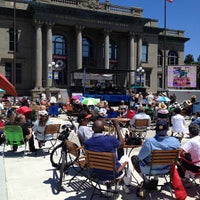 Photo taken at Courthouse Square by Alex F. on 7/28/2012
