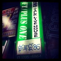 Photo taken at LOFT/PLUS ONE by Hiroyuki I. on 8/11/2012