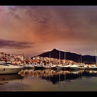 Photo taken at Puerto Banús by rosie (. on 11/20/2011