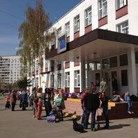 Photo taken at Школа № 1412 (1) by Daria N. on 4/27/2012