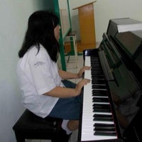 Photo taken at Aula SMA Katolik Ricci II by Melissa D. on 4/19/2012
