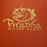 Photo taken at Piranha Killer Sushi by DJ Latin Prince ✔  on 7/24/2011