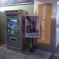 Photo taken at Metro Gold Line - Union Station by Mako C. on 3/18/2012
