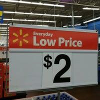 Photo taken at Walmart Supercenter by James on 7/17/2012