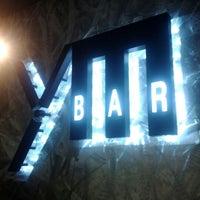 Photo taken at BAR ym by yumiko k. on 3/30/2012