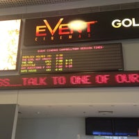 Photo taken at eVent Cinemas by Dale B. on 2/13/2012