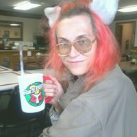 Photo taken at Fox's Pizza Den by Angel R. on 9/1/2012