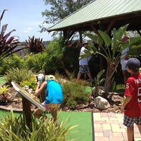 Photo taken at The Fish Hole Mini Golf by Michele A. on 7/7/2012