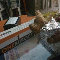 Photo taken at One Burger by Ricardo B. on 3/9/2012