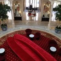 Photo taken at Hôtel Hermitage Monte-Carlo by Alexander v. on 6/16/2012