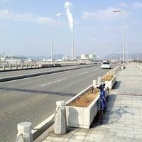 Photo taken at 赤穂海浜大橋 by Kenichi T. on 2/24/2012