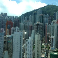 Photo taken at Lan Kwai Fong Hotel 蘭桂坊酒店 by Jessica B. on 5/8/2012