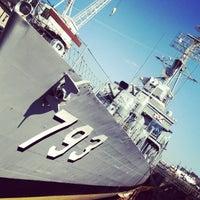 Foto tirada no(a) Charlestown Navy Yard por Liss V. em 7/10/2012
