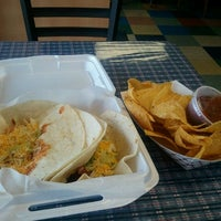 Photo taken at Bandidos Burritos by Calvin B. on 9/1/2012