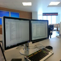Photo taken at Financial Trading Room by Ernesto M. on 8/20/2012