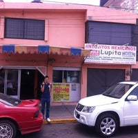 Photo taken at Antojitos Mexicanos La Lupita by Miguel A. on 5/26/2012