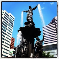 Photo taken at Fountain Square by Paul H. on 5/10/2012