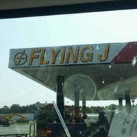 Photo taken at Flying J by Terri T. on 8/25/2012