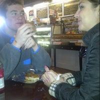 Photo taken at Village Bagels by Bridget B. on 1/22/2012