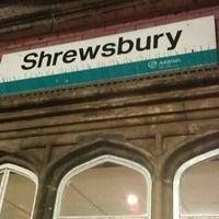 Photo taken at Shrewsbury Railway Station (SHR) by MF H. on 10/23/2011