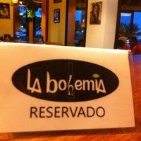 Photo taken at La Bohemia by Esther G. on 7/10/2012