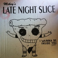 Photo taken at The Original Mikey's Late Night Slice by Shandi . on 8/23/2012