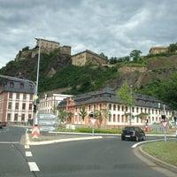 Photo taken at Ehrenbreitstein Fortress by Joachim O. on 6/10/2012