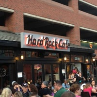 Photo taken at Hard Rock Cafe Boston by Ryan K. on 4/20/2012