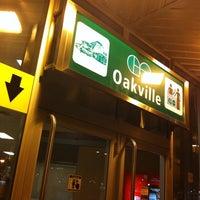 Photo taken at Oakville GO Station by Dylan H. on 2/24/2011