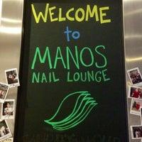 Photo taken at Manos Nail Lounge by SJL on 3/10/2012