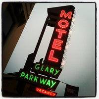 Photo taken at Geary Parkway Motel by Steve R. on 10/19/2011