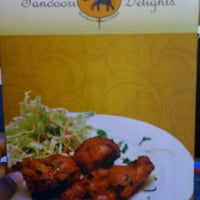 Photo taken at tandoori delights Tropicana Club House by Surain T. on 1/30/2012