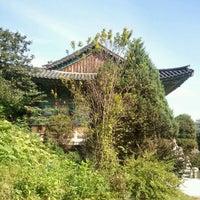 Photo taken at 정토사 (淨土寺) by sang gu S. on 10/2/2011